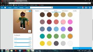 How to change the color of the avatar in Roblox
