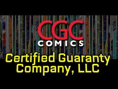 Comic Book Hero: Meet CGC Certification Verification. Certified ...