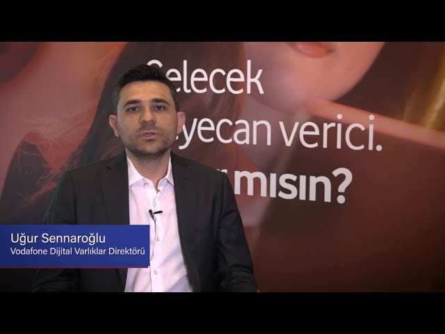 TÜSİAD Ne Okusam Ne Olsam? - Uğur Sennaroğlu / Vodafone