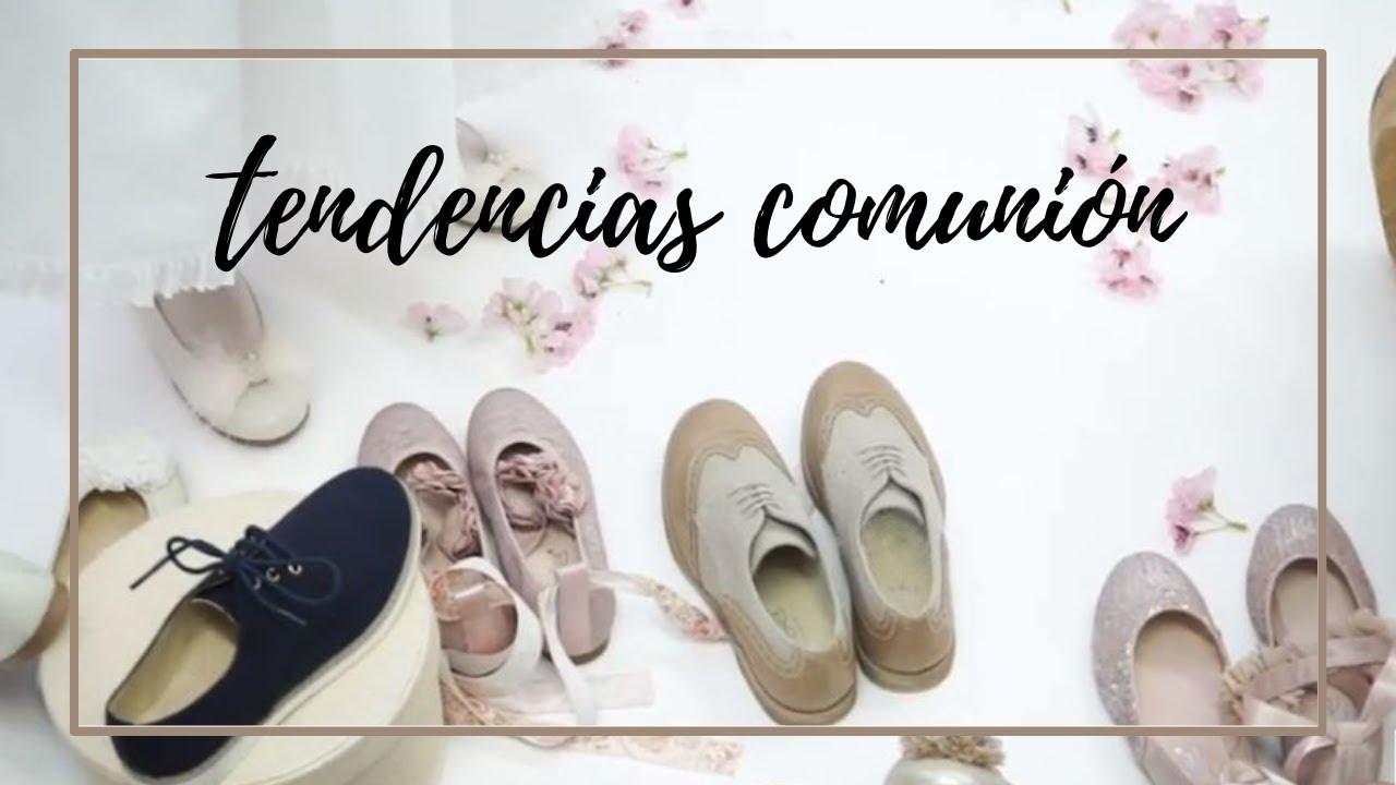 d2359e67 Tendencias zapatos de comunión 2019, nuevos estilos y diseños