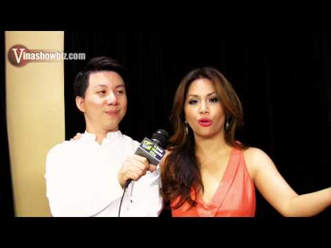 Minh Tuyet on Vinashowbiz - 8/8/2014 interview at Muckleshoot Casino (HD)