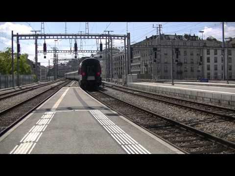 Gare de Genève Cornavin le 31 juillet 2014