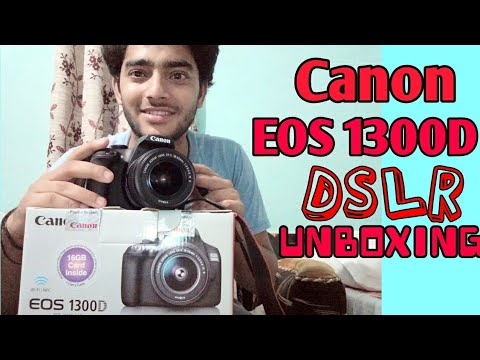 Canon EOS 1300D DSLR UNBOXING with Photos and Videos SAMPLES | Price 25000