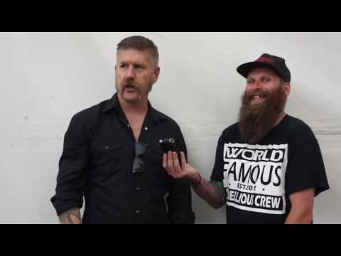 Mastodon Interview Reading Festival 2016