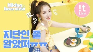 Micing Interview 마이킹인터뷰_Red Velvet 레드벨벳 'Power Up'