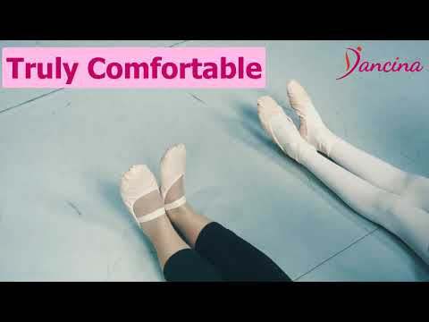 Leather Ballet Shoes for Girls and Toddlers   Dancina