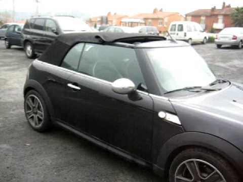 mini cooper s cabrio r57 youtube. Black Bedroom Furniture Sets. Home Design Ideas