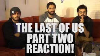 The Last of Us Part 2: Reveal Reaction!