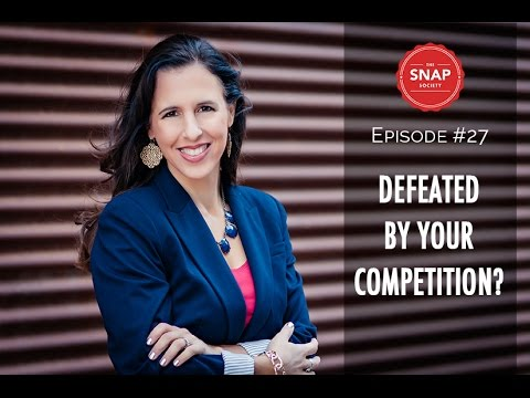 defeated by competition?