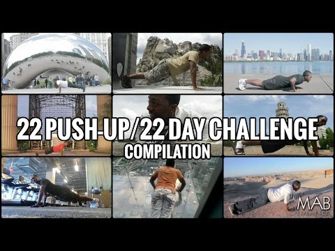 22 Push-Up/22 Day Challenge (Compilation)