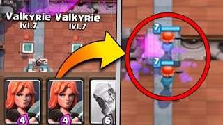 DUPLICATE CARD IN DECK GLITCH! Clash Royale How To Get Same Card In One Deck?!
