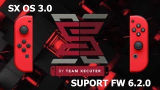 SX OS 3.0 ANUNCIADO  PELA TEAM XECUTER CFW NINTENDO SWITCH