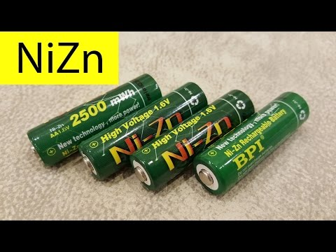 BPI NiZn 2500mWh. Тест аккумуляторов на SkyRC MC3000.