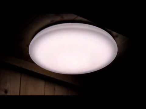 Plafoniera Led Soffitto Rotonda : Plafoniera led da soffitto dimmerabile bicolore cambia colorazione