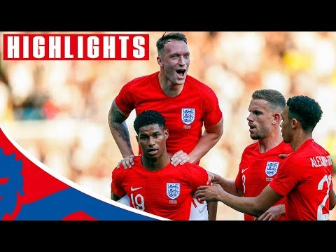 England 2-0 Costa Rica | Rashford Scores a Stunner! | Official Highlights