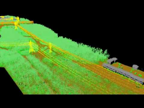 LiDAR Mapping - Transmission Line Demonstration