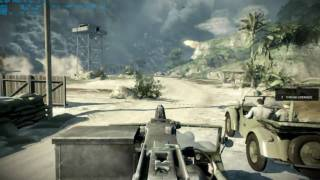 Battlefield Bad Company 2 - First mission maxed HD (2/2)