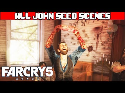 FAR CRY 5 All John Seed Scenes