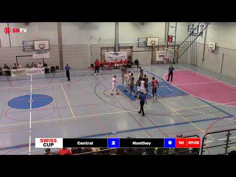 Swiss Cup -  Final 1/4: Central vs. Monthey