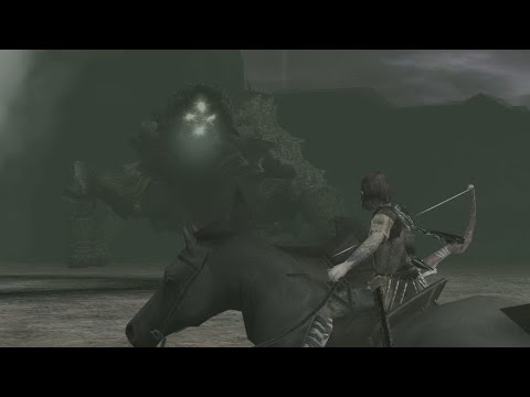 Shadow of the Colossus 9th Colossus HD running on PCSX2 1.3.0