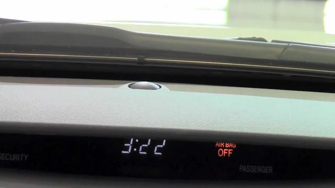 2011 Toyota Camry Headlight Control Sensor How To