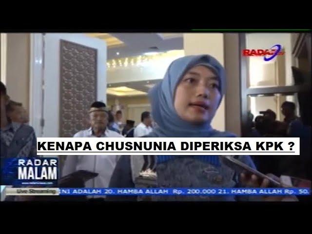 Waduh Kenapa Nih, Wagub terlipih Chusnunia Chalim Diperiksa KPK