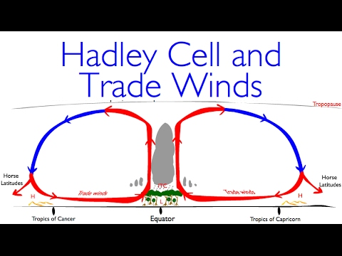 Geography Classics: Hadley Cell, Trade Winds and Deserts