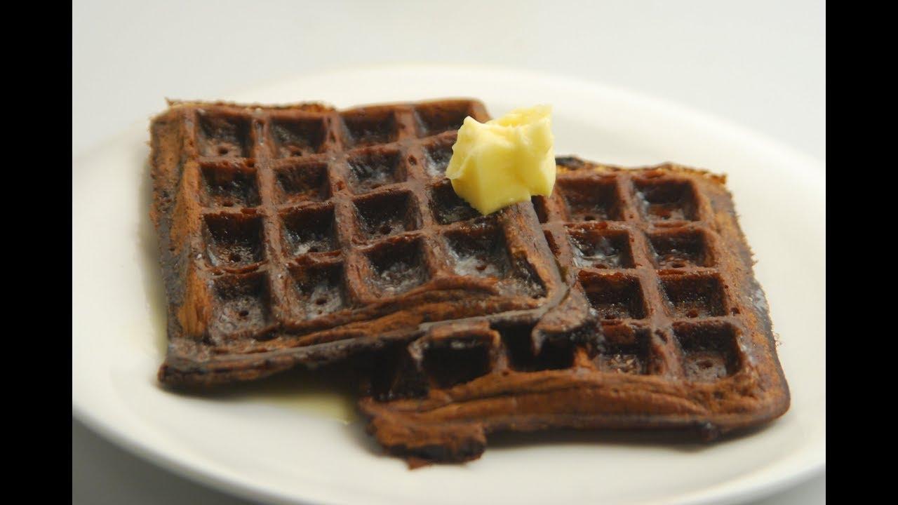 Dark Chocolate and Orange Marmalade Waffles-Cook S