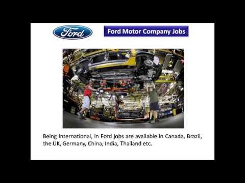 Ford Motor Company Jobs