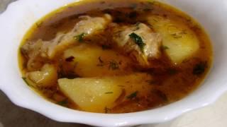 Суп из куриных крылышек!!!