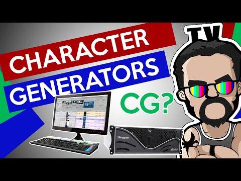 Character Generators [Understanding the Basics]