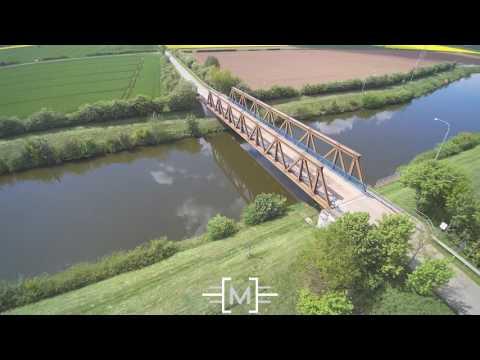 Schleusenkanal Dörverden // Luftbilder // in 4K // Mr-Video.de