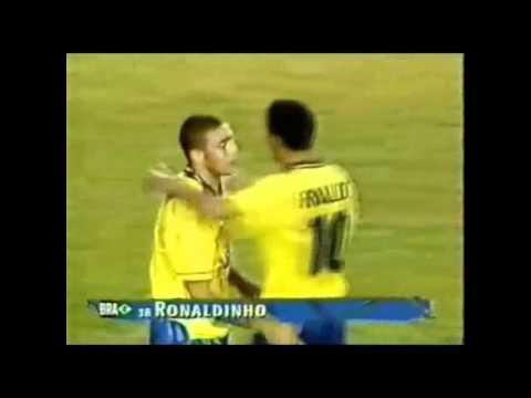 Ronaldo Goal vs Nigeria 1996 Rare Angle In HD
