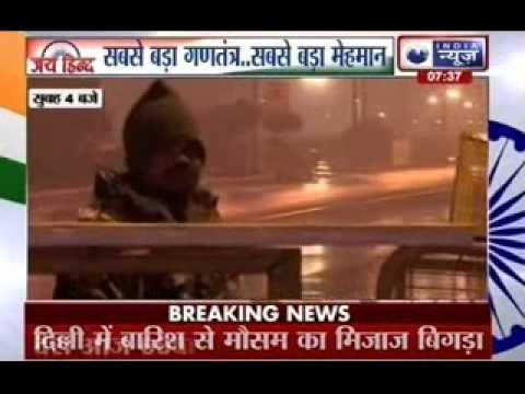Obama in India: India on show at Rajpath as armed forces make way for cultural tableaus