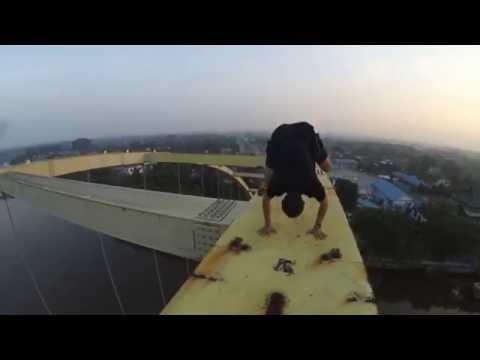 Extreme view Siak Bridge Lekton 3  Pekanbaru  2016