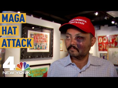 The News Junkie - Gallery Owner Says Gang Of Kids Beat Him Over His MAGA Hat