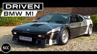 TEST DRIVE BMW M1 1981 - AHG Tuning - Full throttle engine sound | SCC TV