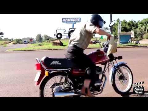 Zuera News - Viagem de moto.