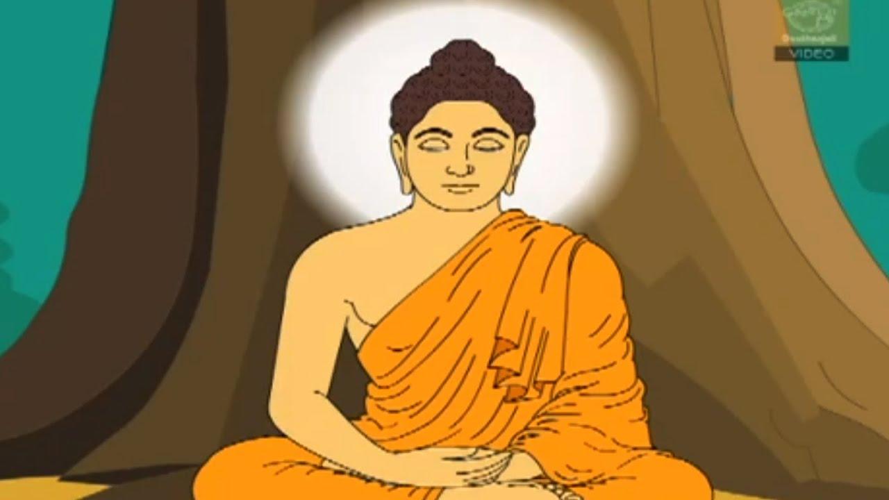 lord buddha animation film