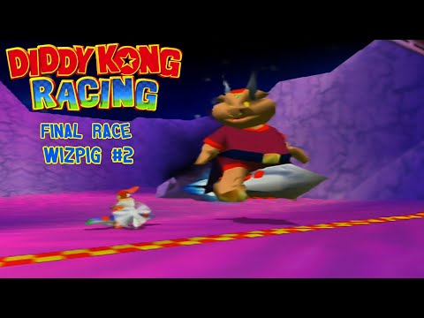Diddy Kong Racing Final Race Wizpig #2