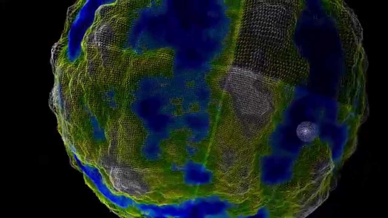 Recursive LOD Planet Rendering - OpenGL