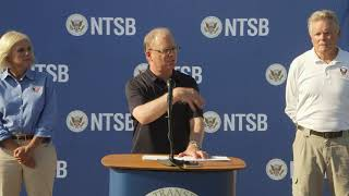 NTSB Third Media Briefing on Lawrence, MA Pipeline Explosion