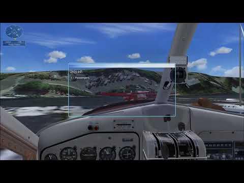 FSX Mission San Juan Island Run - to Friday Harbor サンフアン諸島路線(flight simulator)