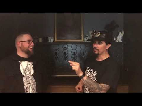 Jesse Dracman from Darkcell talks Psycho Circus fest 2019, Combichrist, Freakenstein novel and more!