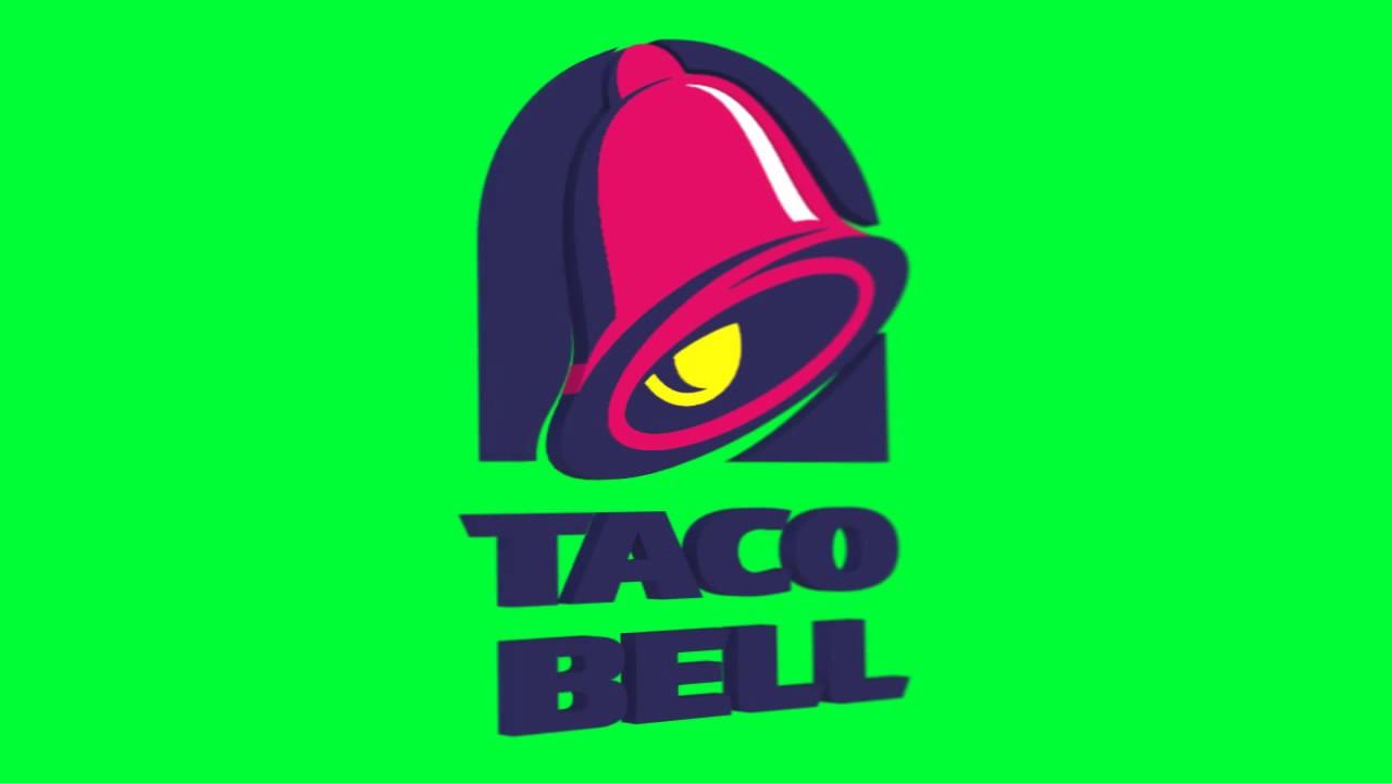 Taco Bell Logo taco bell logo chroma - youtube