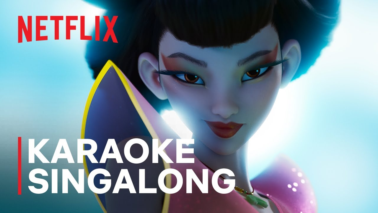 """Ultraluminary"" Karaoke Sing Along Song | OVER THE MOON | Netflix Futures"