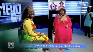 Breaking chains and opening doors on  Pambio Live | Maisha Magic East