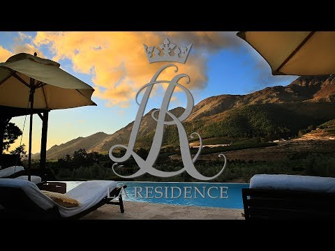 Welcome to La Residence in the Cape Winelands