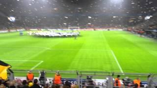 CL Hymne Südtribüne BVB vs Galatasaray 4.11.2014 Champions League