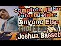 Joshua Bassett - Anyone Else//in DETAILS complete guitar tutorial+lesson